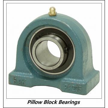 0.75 Inch | 19.05 Millimeter x 1.469 Inch | 37.3 Millimeter x 1.625 Inch | 41.275 Millimeter  LINK BELT PU312  Pillow Block Bearings