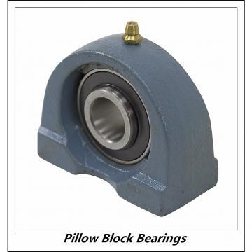 2.188 Inch | 55.575 Millimeter x 3.031 Inch | 77 Millimeter x 4 Inch | 101.6 Millimeter  LINK BELT PEU3K35N  Pillow Block Bearings