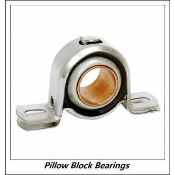 1.438 Inch   36.525 Millimeter x 2.094 Inch   53.18 Millimeter x 2.375 Inch   60.325 Millimeter  LINK BELT PU323N  Pillow Block Bearings